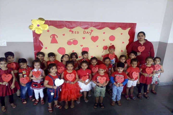 The Knowledge Bus Global School-Red day celebrations