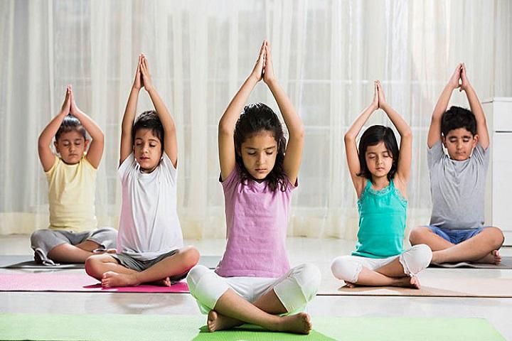 The Millennium School-Yoga room