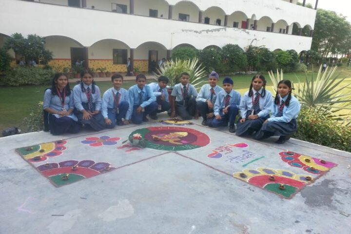 The Oxford School Of Education-Rangoli Competition