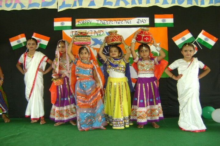 The Royal World International School-Independence Day