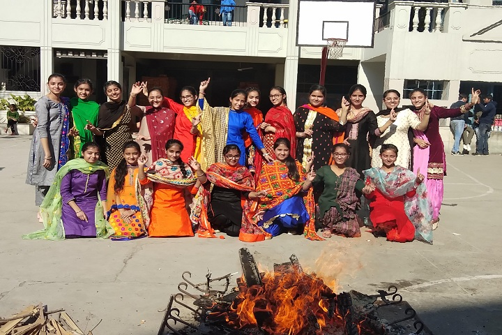 The Senior Study II-Lohri celebrations