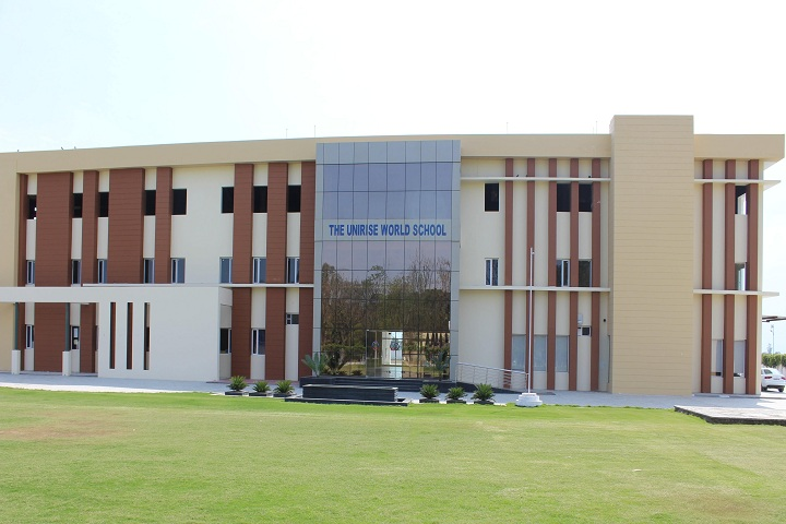 The Unirise World School-front view