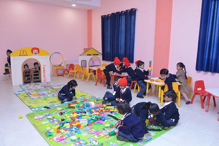 The Unirise World School-toddler area