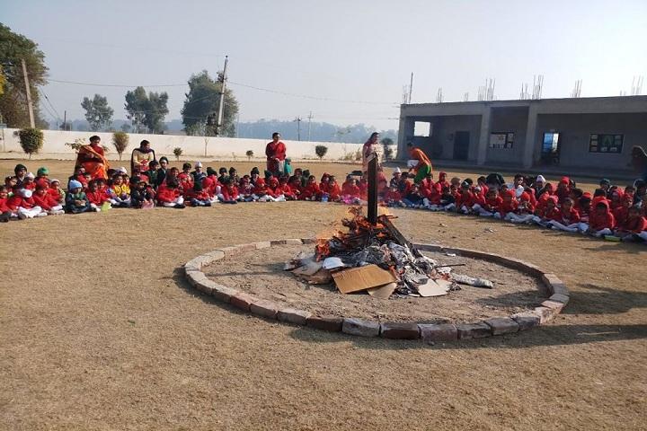 Top Ranker International School-lohri celebrations