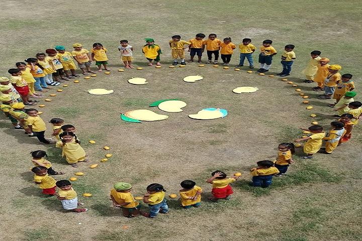 Top Ranker International School-mango day