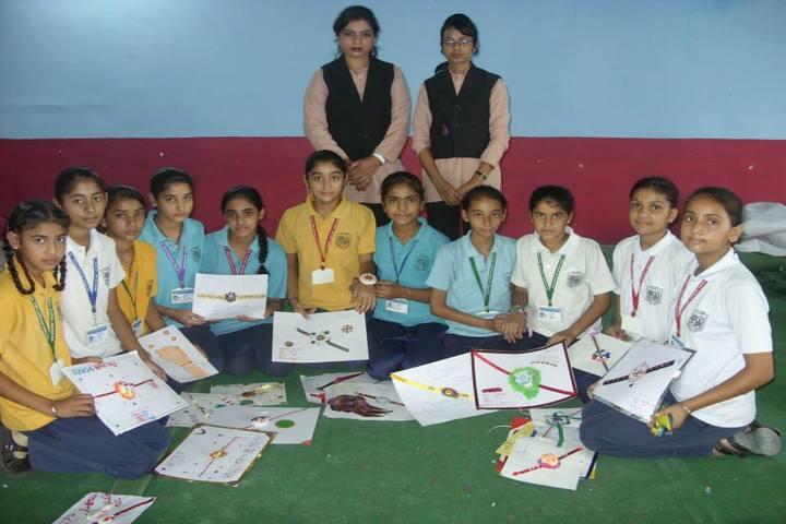 Victoria International School-Rakhi Making