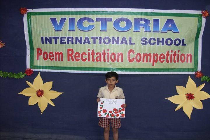 Victoria International School-Recitation Competition