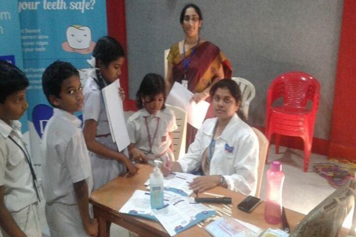 Ashram Public School-Health Check up