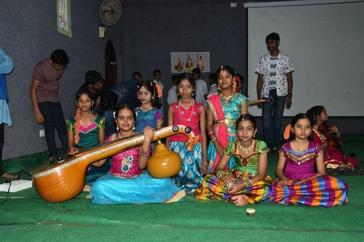 Ashram Public School-Music Class