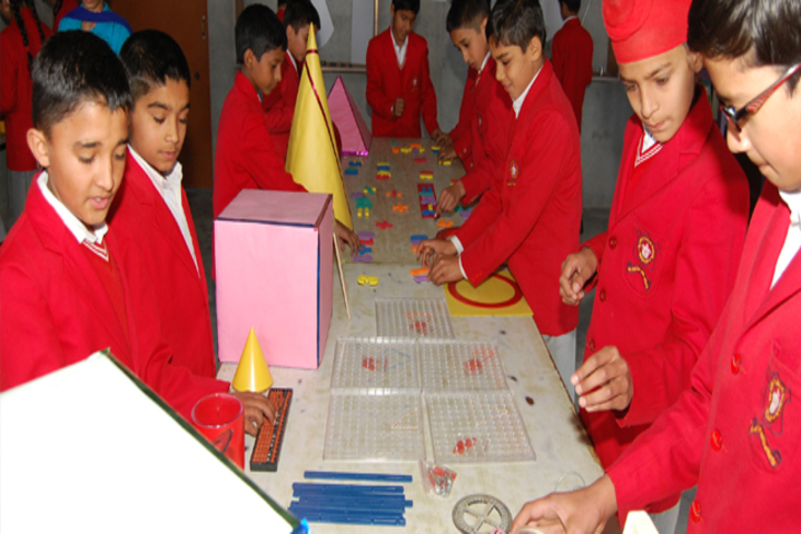 Victoria Public School-Maths Lab
