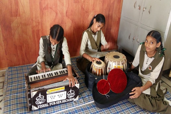 Vishal Public Senior Secondary School-Music room