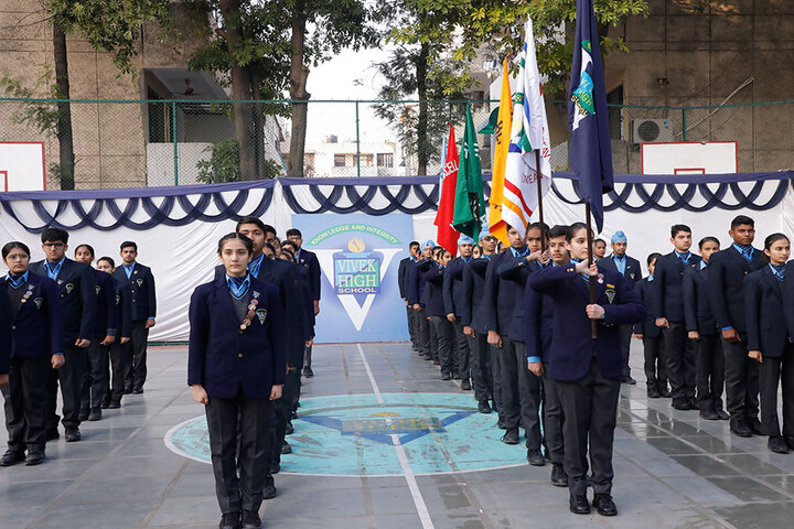 Vivek High School-Assembly