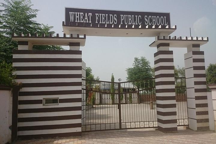 Wheat Fields Public School-Campus Entrance