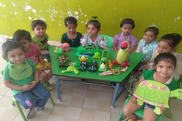 Woodbury World School-Play room