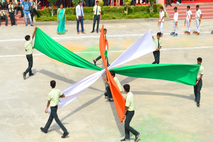 A V S Public School-Independence Day