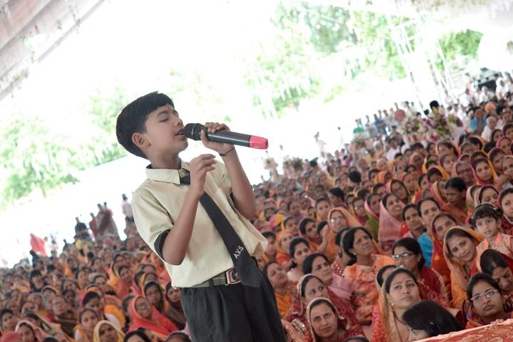 A V S Public School-Singing