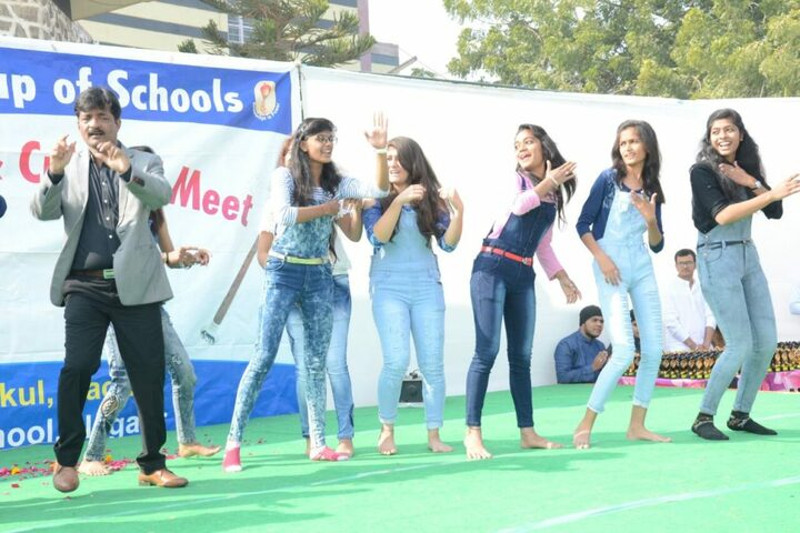Aakanksha International School-The Gurukul-Cultural Meet