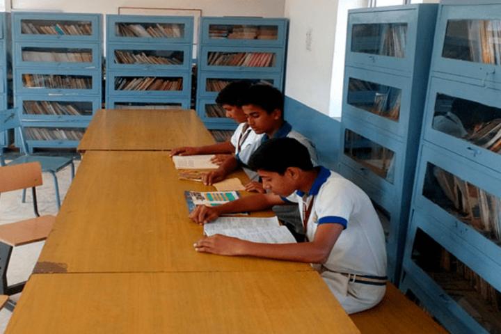 Acharya Nanesh Academy-Library