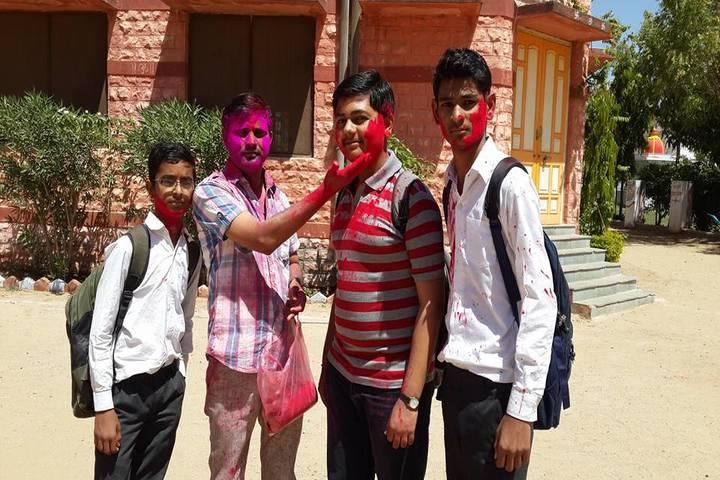 Adarsh Vidya Mandir-Holi Celebration