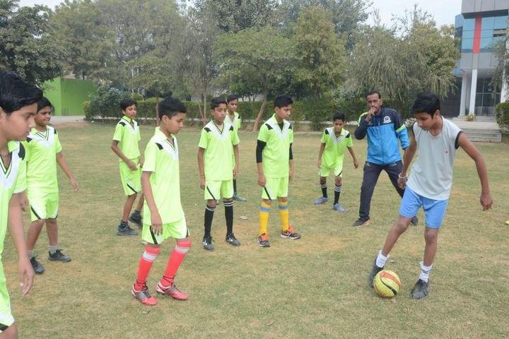 Adinath Public School-Sports Football