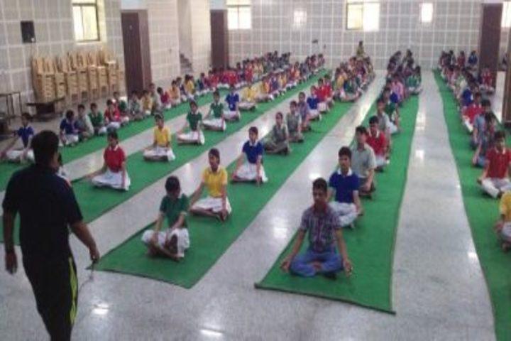 Adinath Public School-Yoga