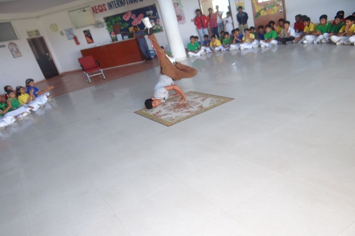 Aegis International School-Dance Competition