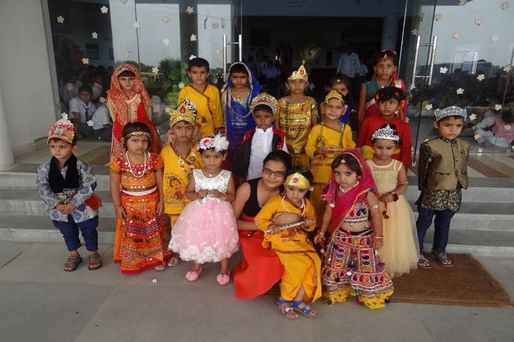 Aegis International School-Janmastami