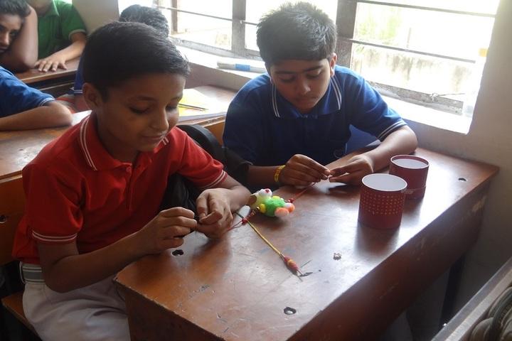 Aegis International School-Rakhi Making