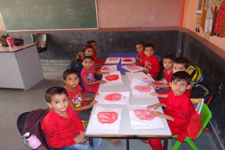 Aegis International School-Red Color Day