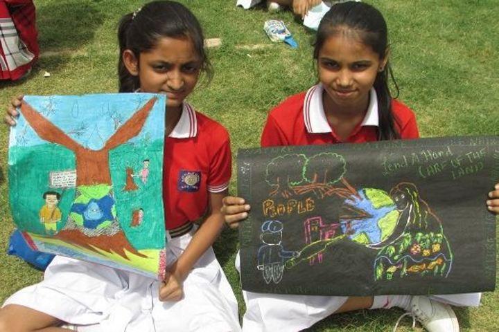 Ajeet Public Senior Secondary School-Drawing Competetion