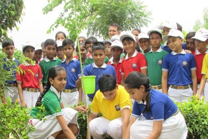 Ajeet Public Senior Secondary School-Plantation Day