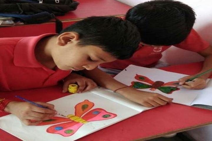 Alank Day Boarding Cum Residential School- Drawing