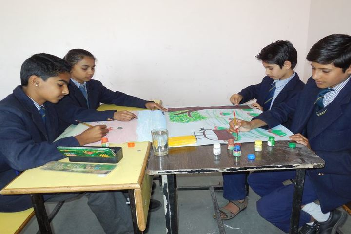 Alank Day Boarding Cum Residential School- Poster making Activity