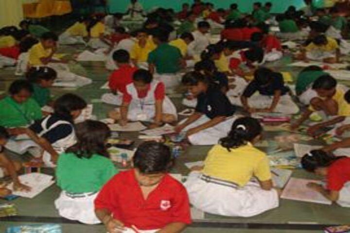 Aklank Public School-Art and Craft