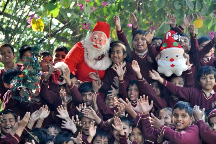 All Saint Senior Higher Secondary School-Christmas Celebrations