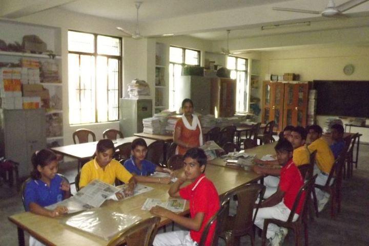 All Saints International School-Library