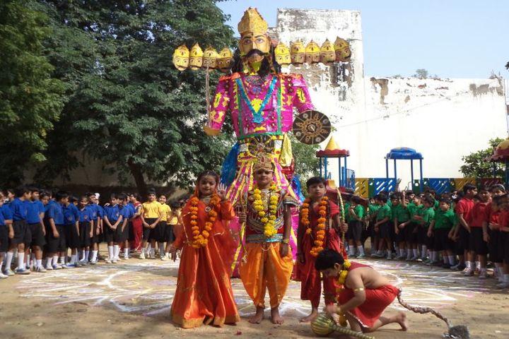 All Saints Senior Secondary School-Dussehra Celebrations