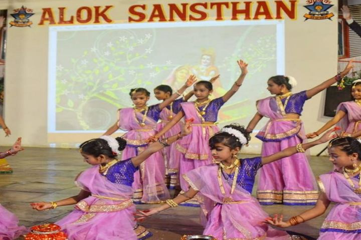 Alok Senior Secondary School-Cultural Dance