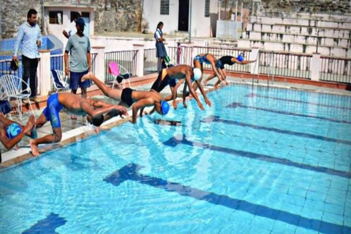 Alok Senior Secondary School-Swimming Pool