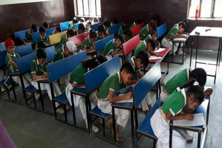 Ambition Public School-Class room