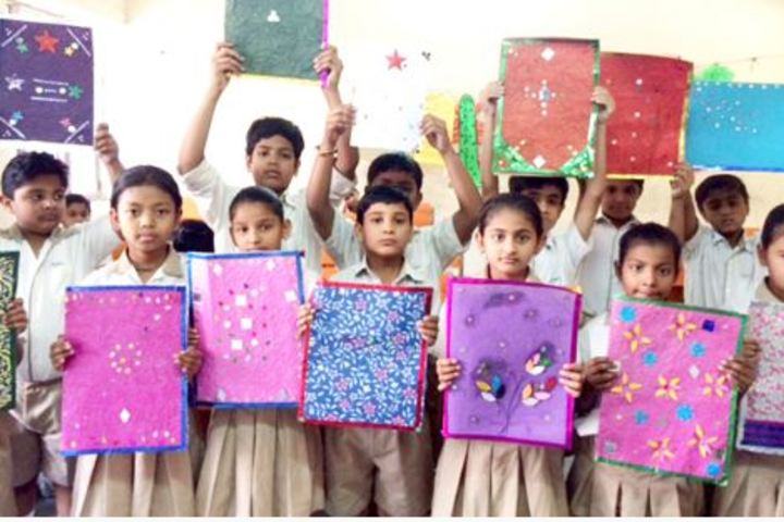 Apex International School-Art and Craft