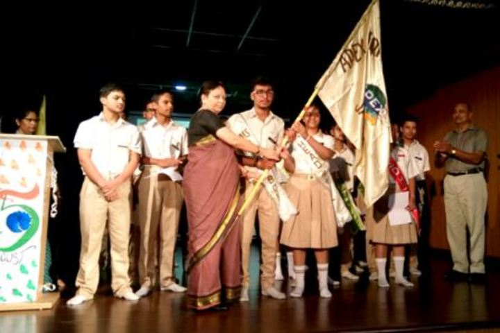 Apex International School-Investiture Ceremony