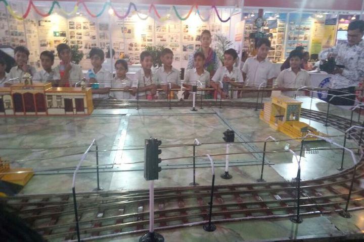 Apex International School-Railway Exhibition Visit