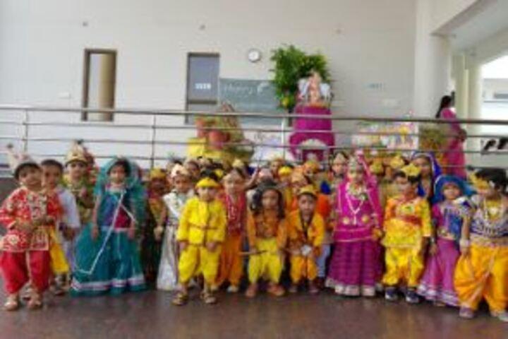Arcadia Academy-Janmashtami Celebrations