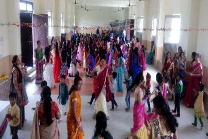 Arihant Public School-Dandiya Celebrations