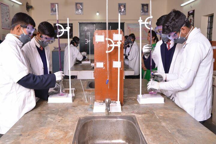 Army Public School-Chemical Lab