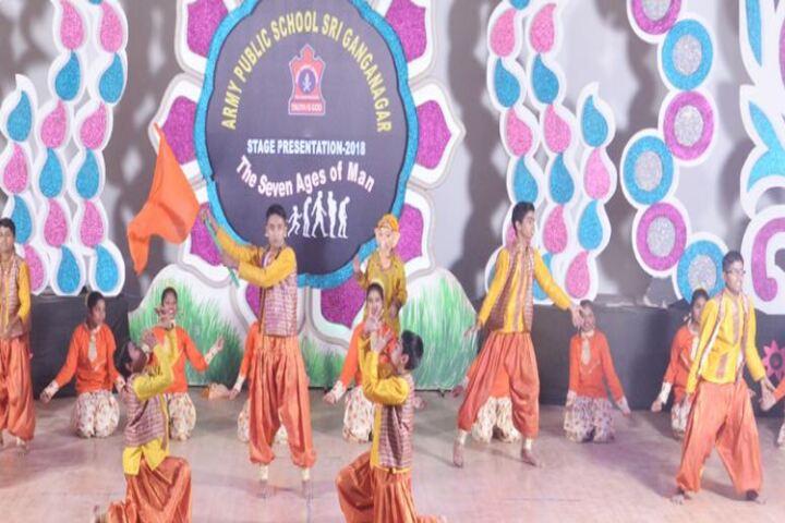 Army Public School-Dance Activity