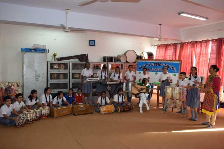 Army Public School-Music room