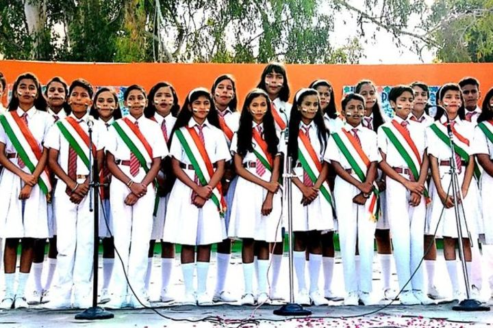 Army Public School-Events singing
