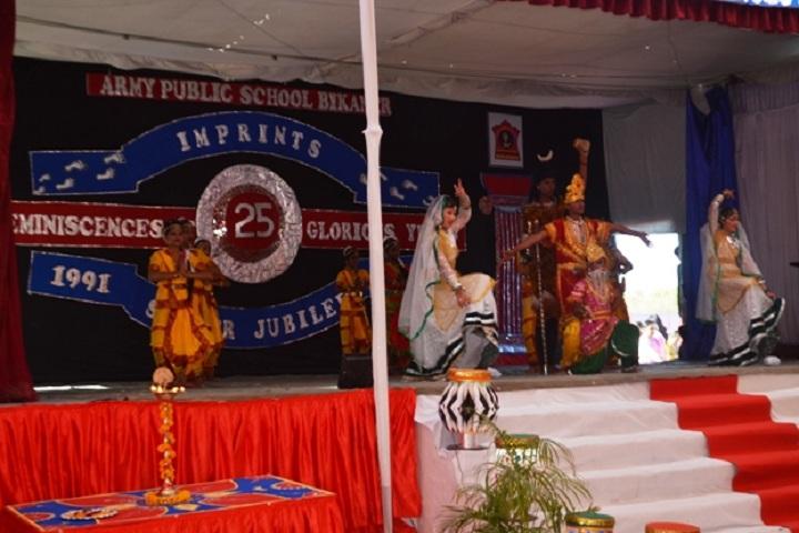 Army Public School-Events dance